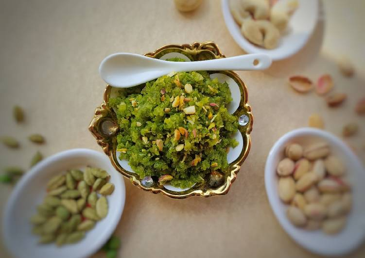 Simple Way to Make Any-night-of-the-week Green Peas halwa