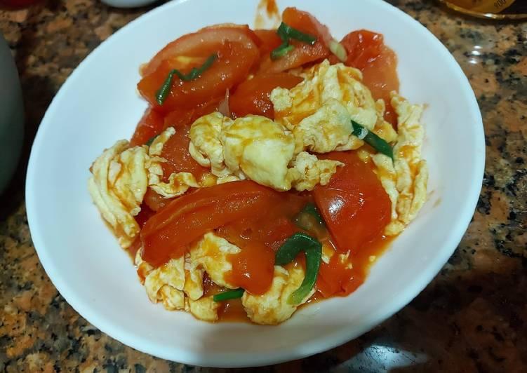Tomat tumis telur