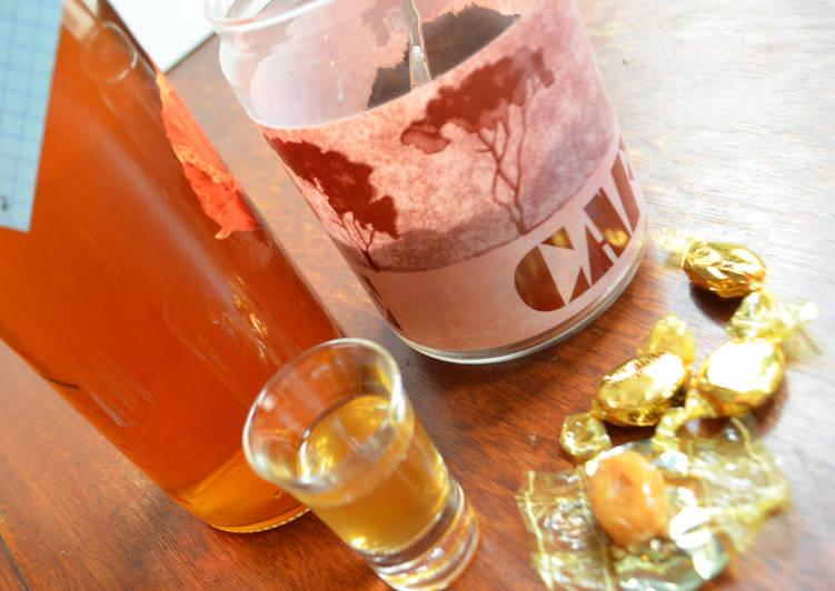 Rhum arrangé café-caramel-vanille