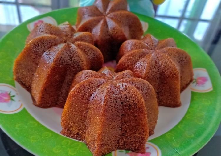 resep buat Bolu karamel kukus (bolu sakura) - Sajian Dapur Bunda