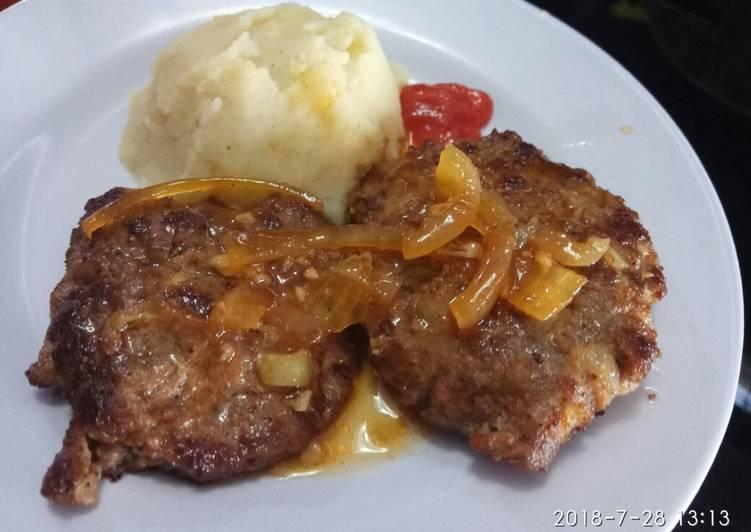 Patty Burger Homemade
