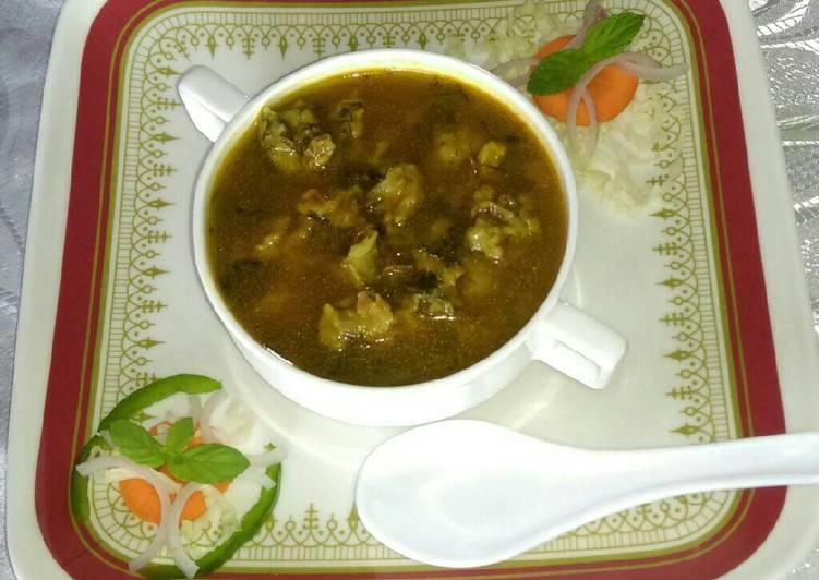 Recipe: Delicious Masaura balls soup…#SoupSalad