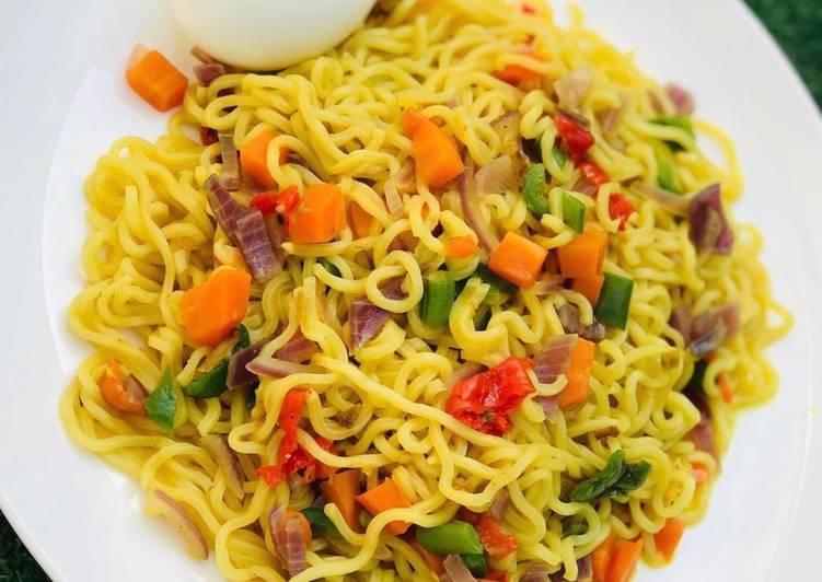 Vegetable stir fried noodles