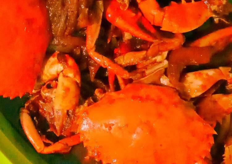 Kepiting saos asam manis pedas - cookandrecipe.com