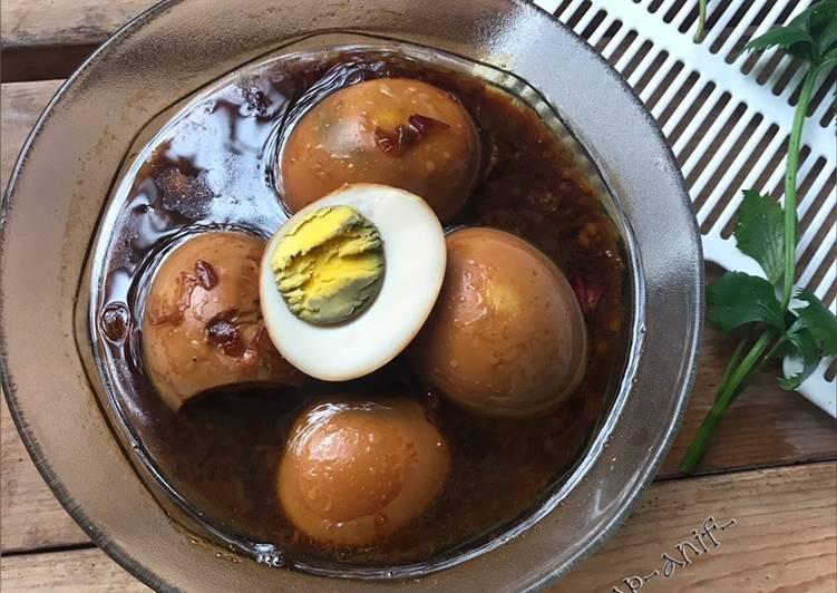 telur-rebus-masak-kecap