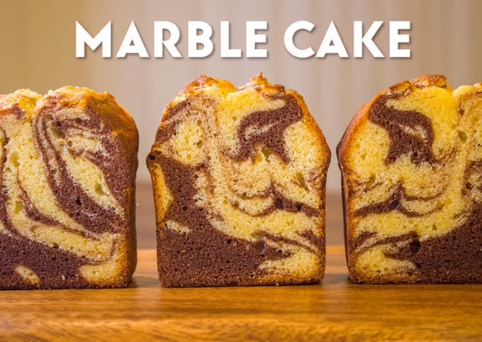Cocoa Marble Pound Cake