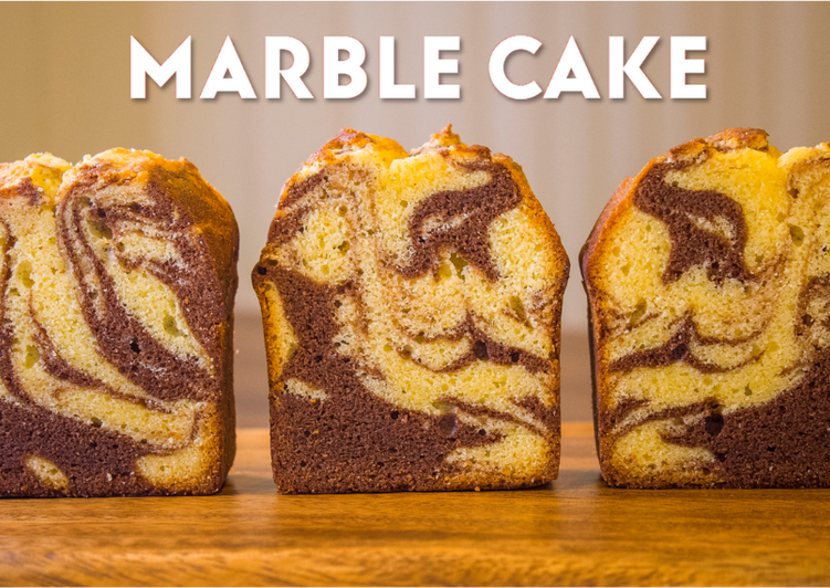 Cocoa Marble Pound Cake☆Recipe Video☆