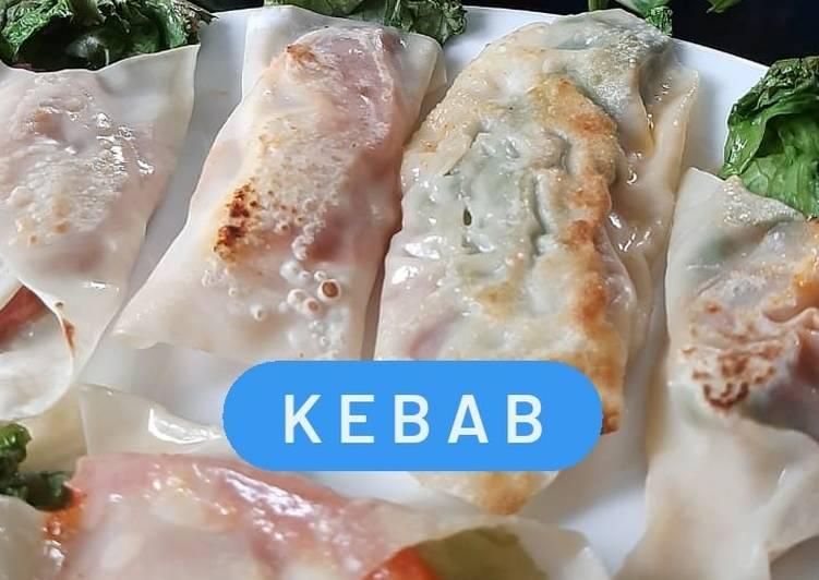 Kebab Kulit Pangsit