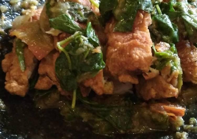 Ayam geprek ciganea