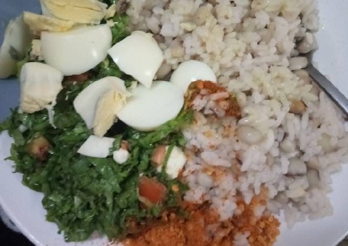 Garau Garau (Rice and Beans)