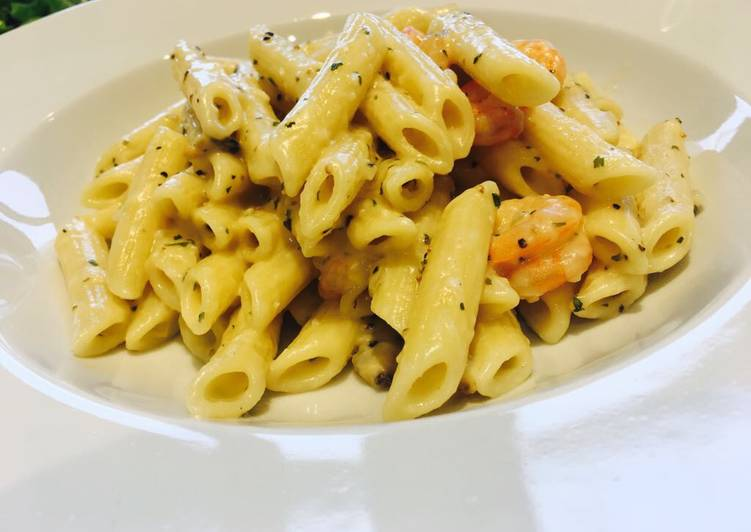 Recipe of Homemade Seafood pasta
