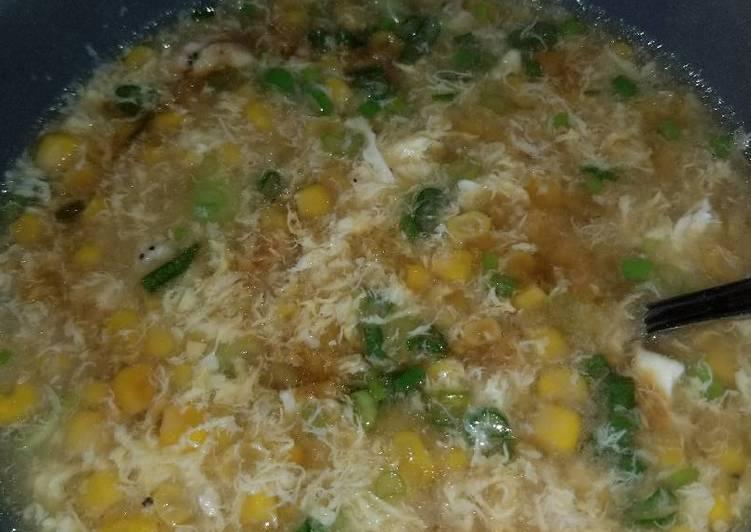Homemade Chicken Corn Soup