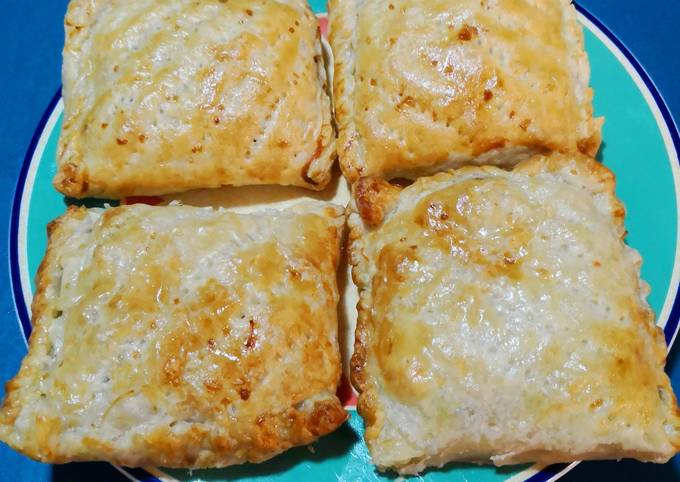 Beef Potato Puff Pastry with Dip Sauce 😚🐂🍅🥕🌶🌯🌻🍽😍