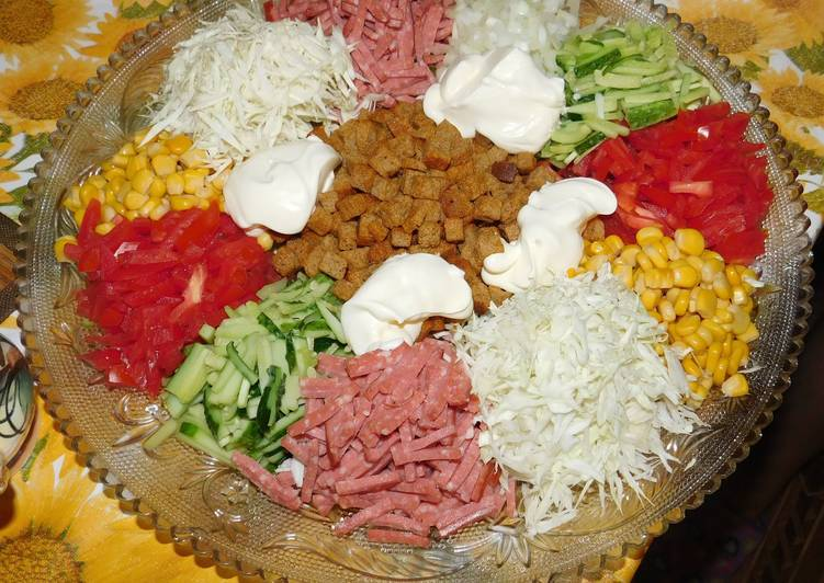 заварной салат дорожка рецепт с фото пошагово оптимальный