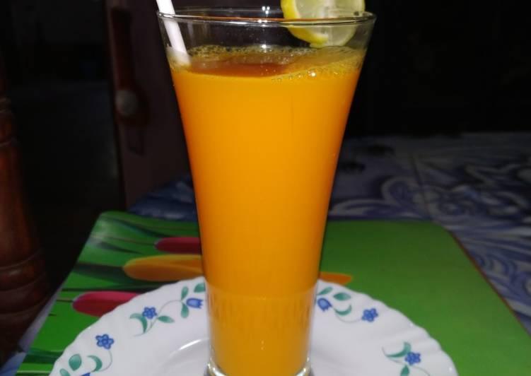 Orange & ginger Detox drinks