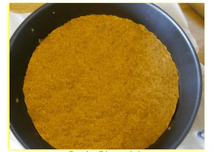 Base De Galletas Para Tartas Receta De La Cocina De Con Cookpad
