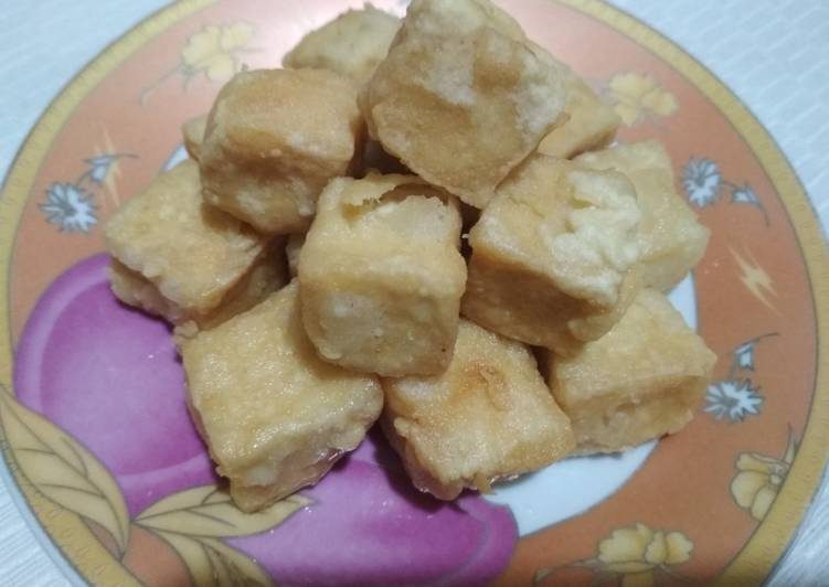 Tahu crispy n simple