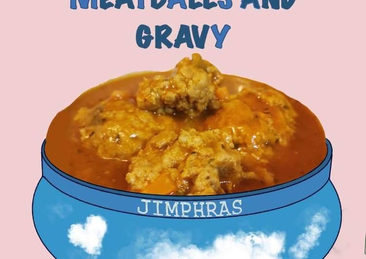 Easy Meatballs & Tomato Gravy