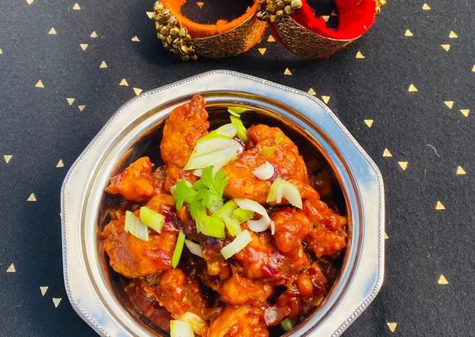 Gobi Manchurian (Cauliflower Manchurian) #mycookbook