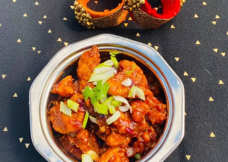 Steps to Make Favorite Gobi Manchurian (Cauliflower Manchurian) #mycookbook