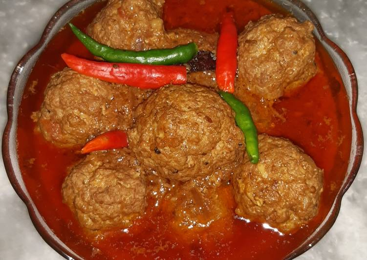 Beef kofta curry recipe