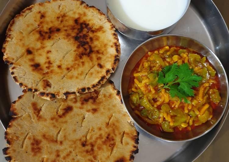 Steps to Make Super Quick Homemade Kathiyawadi Thali