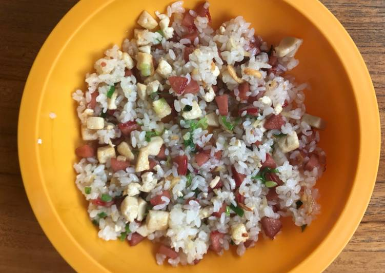 Resep Makanan Anak Nasi Goreng Sosis Tahu Bikin Laper