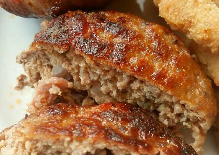 Vickys Pork & Bacon Burgers, GF DF EF SF NF