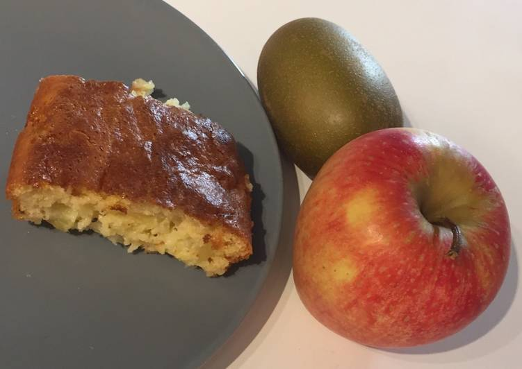 Gâteau pomme-kiwi