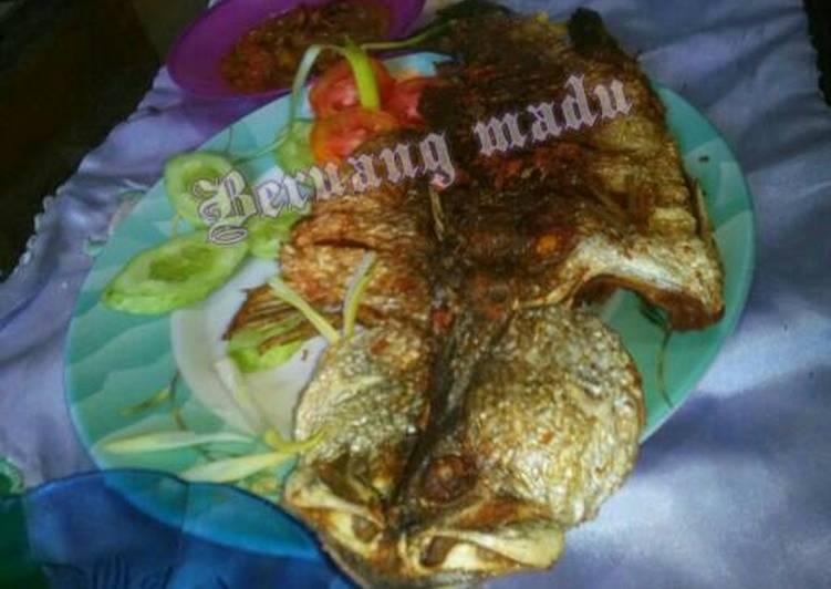 Resep Kakap putih goreng sambal endess Yang Populer Bikin Ngiler