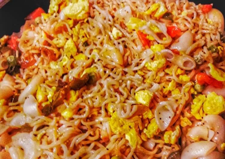 Egg Noodles wid macroni