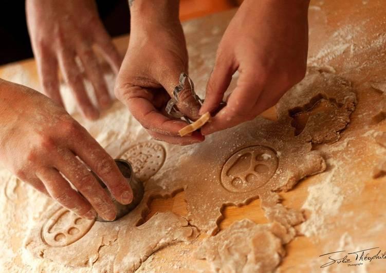 Comment Faire Des Pâte sablée sucrée🥠cannelle