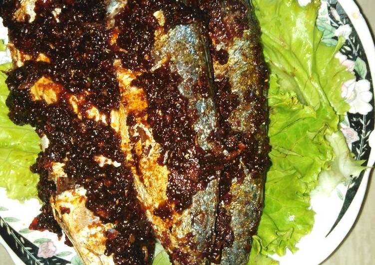 Resep #40. Ikan Gembung Bakar Teflon Yang Populer Lezat
