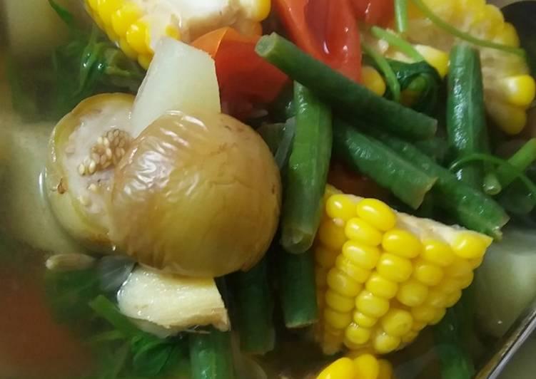 Sayur asem simple