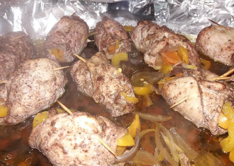 Recipe of Award-winning Chicken veggie wrap