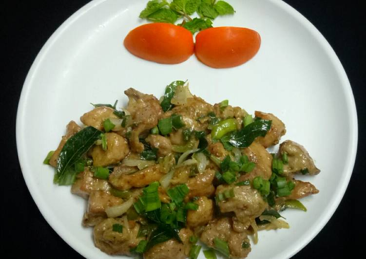 Recipe: Appetizing Pepper chicken dry