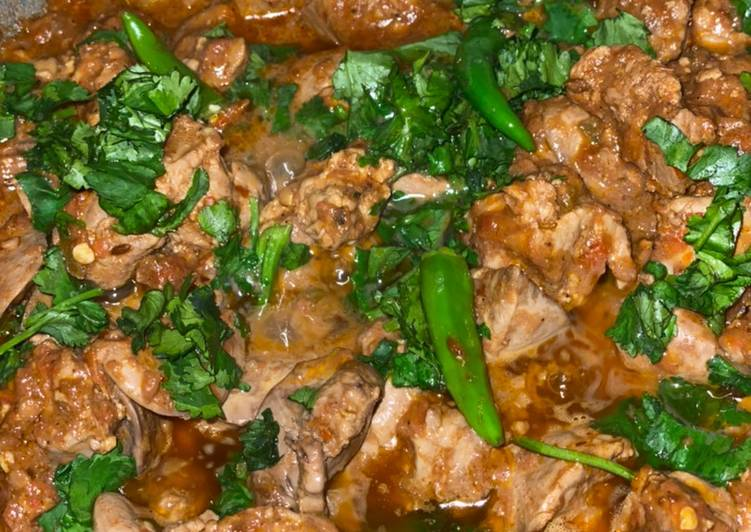 Steps to Make Super Quick Homemade Chicken liver