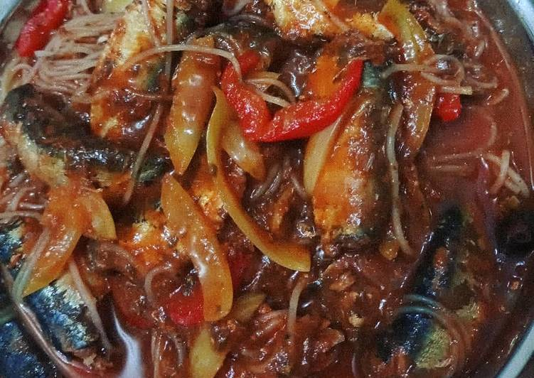 Ikan sarden paprika