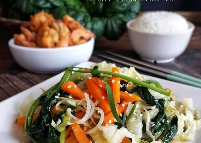 Resep Yasai Itame Tumis Sayur Ala Jepang Oleh Amanda Garden To Table Cookpad