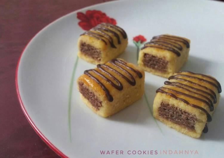 Resep Wafer Cookies Nastar Wafer Oleh Indahnya Indah Cookpad