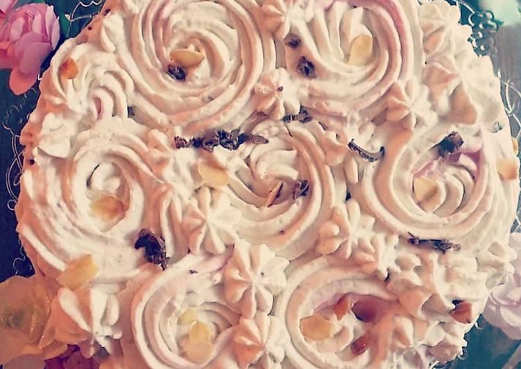 Les Meilleures Recettes de Nude Cake au chocolat blanc, Philly cheese et amandes❤❤❤