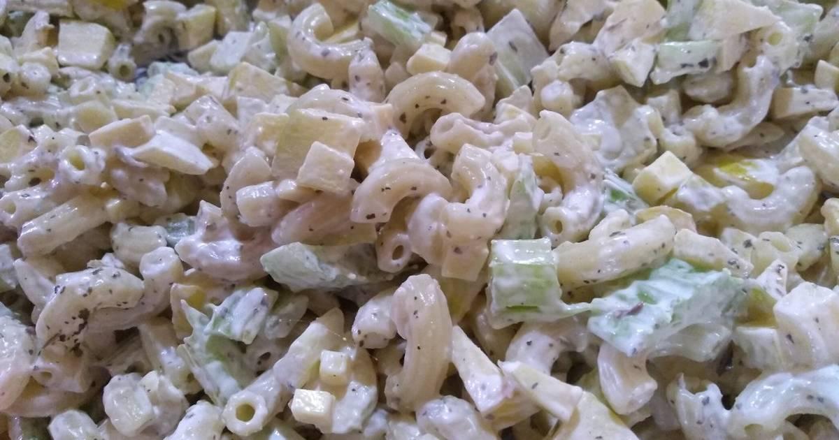 Ensalada De Coditos Y Manzana Receta De Cocinando Facil Cookpad