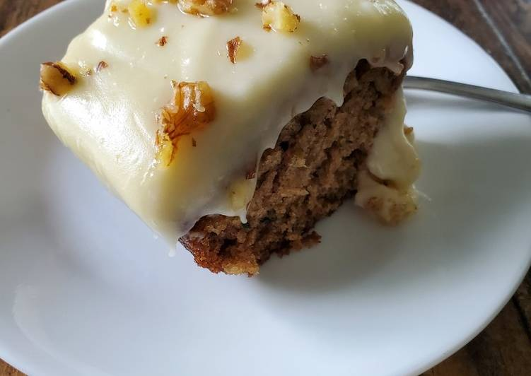 Recipe of Favorite Zucchini Cake with Cream Cheese Frosting