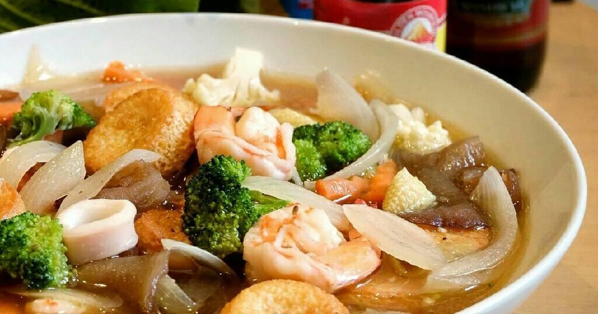 Resep Sapo Tahu Seafood Oleh Ria Flux Cookpad