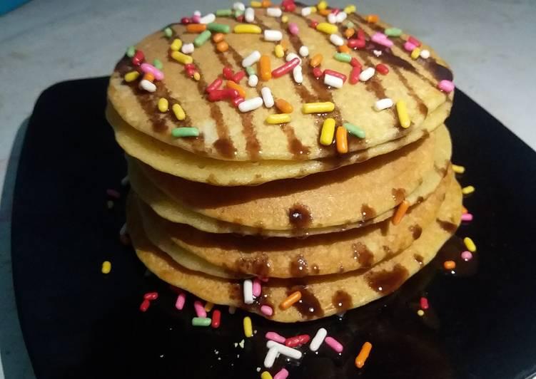 Resep Pancake simpel enak Bikin Ngiler
