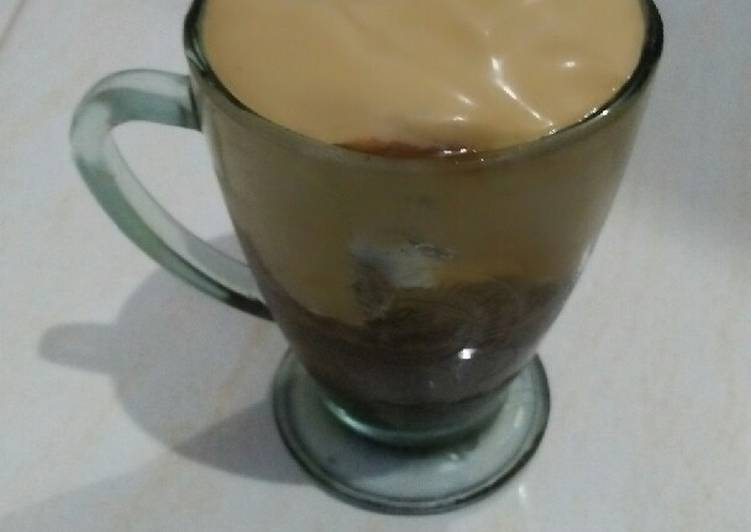 Oldtown's Dalgona Coffee Brown Sugar