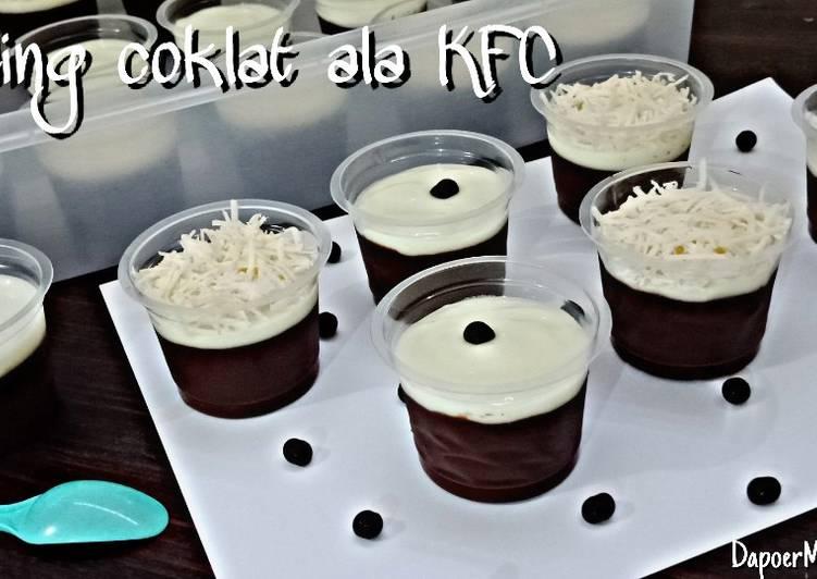 Puding Coklat ala KFC