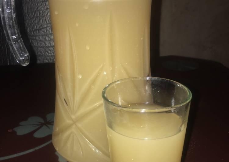 Tamarind & ginger drink🍹