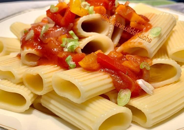 Recipe: Appetizing Sommergemüse Pasta