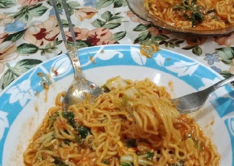 Resep Mie godok (indomie goreng) 🌸 Bikin Jadi Laper